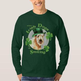 Camiseta O dia Terrier Wheaten de St Patrick