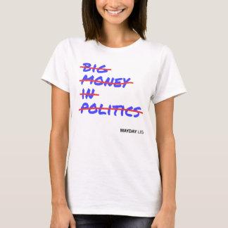 Camiseta O dinheiro grande das mulheres no T de