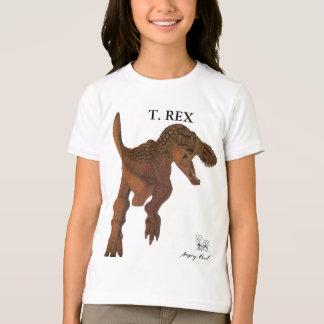 Camiseta O dinossauro caçoa o rex Greg Paul do tiranossauro