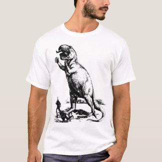 Camiseta O dinossauro da evolução