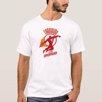 Camiseta o disco de jogo é minha superpotência