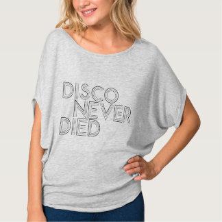 Camiseta O disco nunca morreu