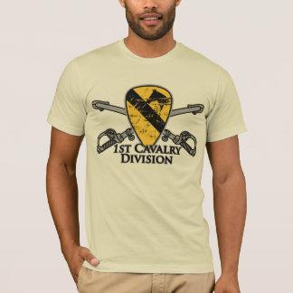 Camiseta ø Divisão primeiro Cav da cavalaria