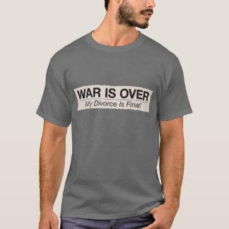 Camiseta O divórcio é final