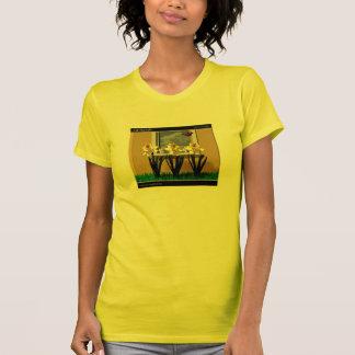 Camiseta ø do t-shirt de março