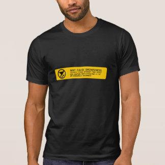 Camiseta O dobro tomou partido: SONOLÊNCIA & VERTIGEM