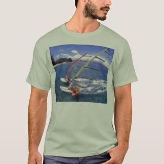 Camiseta o dobro tomou partido windsurf