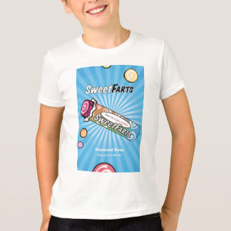 Camiseta O doce Farts cobrir
