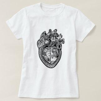 Camiseta O doodle da anatomia inspirou o t-shirt