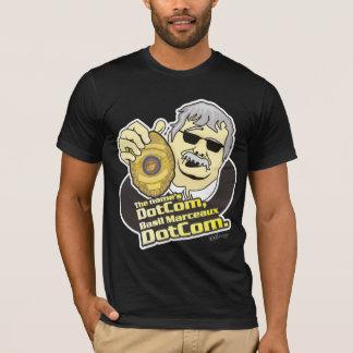 Camiseta O Dotcom do nome, DotCom de Marceaux da manjericão