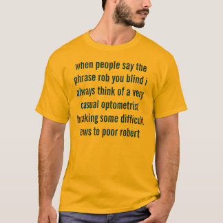 Camiseta o doutor está em (sensível)
