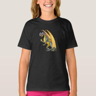 Camiseta O dragão de respiração do fogo caçoa o t-shirt