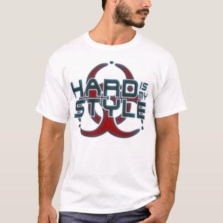 Camiseta O duro é meus gênero incondicionais da música do