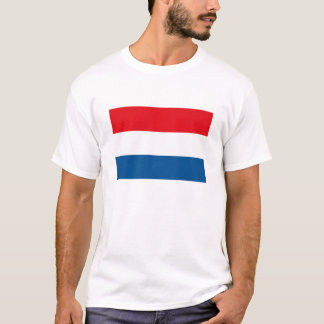 Camiseta O Dutch embandeira o t-shirt