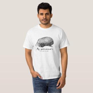 Camiseta O Echidna é meu animal do espírito. Não me