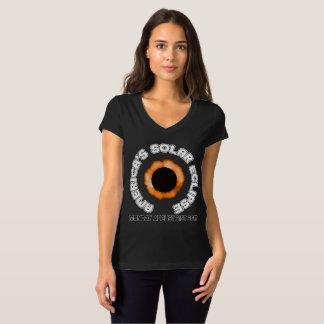 Camiseta O eclipse solar de América