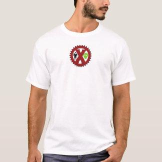 Camiseta O embuste do UFO é um logotipo do embuste