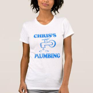 Camiseta O encanamento de Chris
