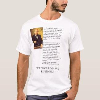 Camiseta O endereço de adeus de Ike