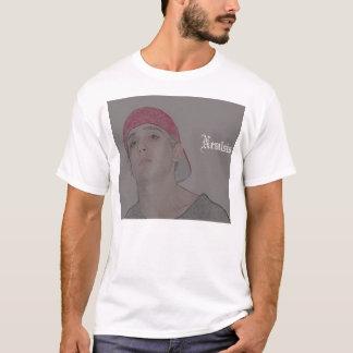 Camiseta o entalhe é um azz