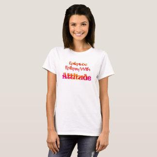 Camiseta O Epileptude das mulheres #epilepsy