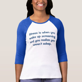 Camiseta O esforço é a quando você o acorda gritar e com