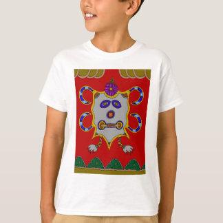 Camiseta O espírito do inverno frio Sun