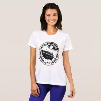 Camiseta O esporte de 2017 mulheres TOTAIS do desenhista do