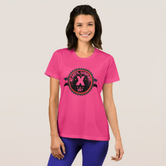 Camiseta O Esporte-Tek das mulheres