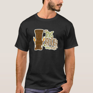Camiseta O estilo básico do comerciante de Tiki