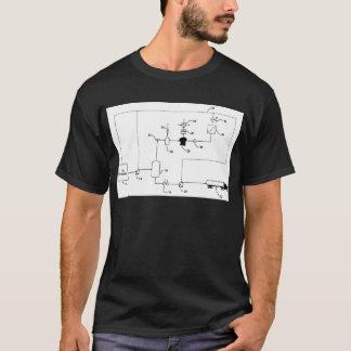Camiseta O estilo elétrico do gerador
