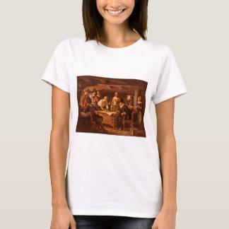 Camiseta O estojo compacto de Mayflower por Jean Leon