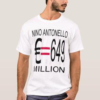 Camiseta O euro (Greyscale) de Nino Antonello N.A. iguala