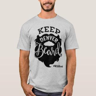 """Camiseta O evento alto do autor da milha """"mantem homens da"""