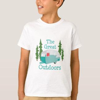 Camiseta O excelente fora