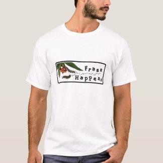 Camiseta O excremento acontece t-shirt
