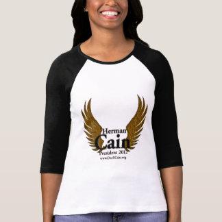 Camiseta O falcão de Cain voa o ouro