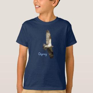 Camiseta O falcão de peixes crescente do Osprey caçoa o