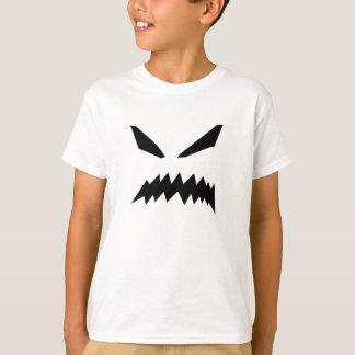 Camiseta O fantasma assustador caçoa o t-shirt