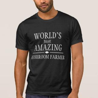 Camiseta O fazendeiro o mais surpreendente do cogumelo do