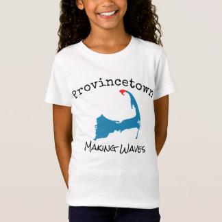 Camiseta O fazer maciço de Provincetown acena o miúdo, a