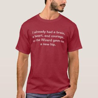 """Camiseta """"O feiticeiro deu-me"""" um t-shirt anca novo"""