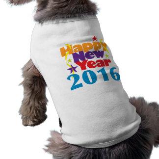 Camiseta O feliz ano novo 2016