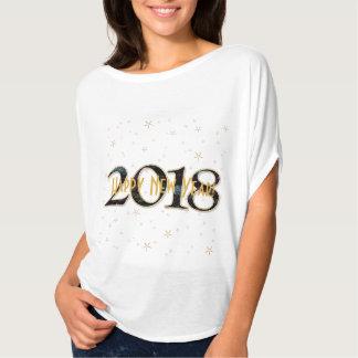 """Camiseta O """"feliz ano novo personalizado"""" 2018"""