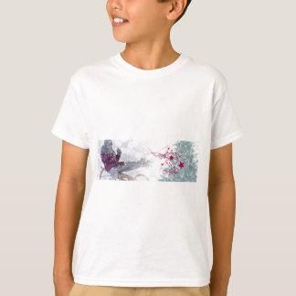 Camiseta O Feliz Natal rotula nevar