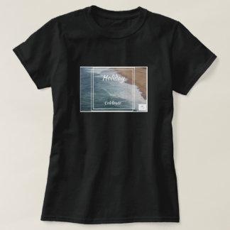Camiseta O feriado comemora o t-shirt que caracteriza o
