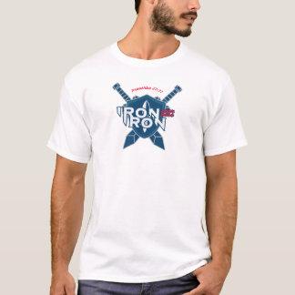 Camiseta O ferro do 27:17 dos provérbio Sharpens o ferro