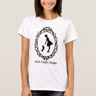 Camiseta O filhote de cachorro de Spork projeta o logotipo