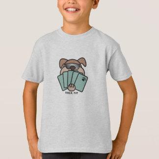 Camiseta O filhote de cachorro do póquer caçoa o t-shirt