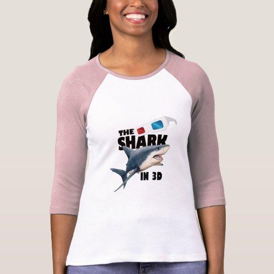Camiseta O filme do tubarão